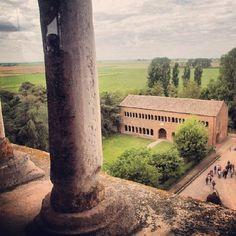 Panorama dal campanile dell'abbazia di Pomposa - Instagram by gaialodovica