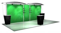 Messina AL5 Alumalite 20 Foot Arch Hybrid System is the portable modular display system that raises your brand image while lowering your shipping and install/dismantle costs. It is a very contemporary looking unit that will attract attention and drive crowds to your booth. An entire Alumalite system can be assembled quickly and easily. Graphics are available in your choice of either dye sublimation printed tension fabric or roll on graphic mural.