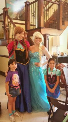 Call in today to reserve your party with the most famous royalty around! Www.afairytalecometrue.com 561-396-3644 princess party Palm Beach frozen party Palm Beach