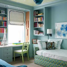 Spaces Trundle Bed Design, Pictures, Remodel, Decor and Ideas - page 4 *********** I love this trundle bed!  Looks more like a couch than a bed. ***********