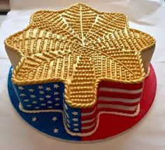 A Major promotion cake! A Chocolate cake with Vanilla Buttercream...