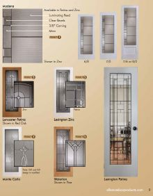 New interior FRENCH DOOR brochure from Alliance Door Products Canada #alliancedoor - Glace;Maison;Eterne;Ensemble