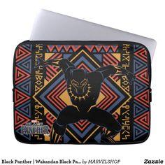 Black Panther   Wakandan Black Panther Panel Computer Sleeve #marvelsuperheroes #avengersendgame #marvelcomputersleeves Neoprene Laptop Sleeve, Laptop Sleeves, Computer Sleeve, Custom Laptop, Day Use, Black Panther, Marvel, Unisex, Pattern