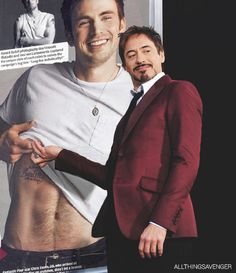 Robert Downey Jr..... Look at his face!