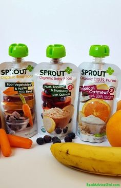 Sprout Baby Organic Foods #SproutFoods #SproutBabyFoods #AD