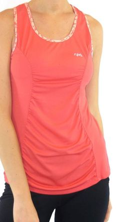 Keep cool when working up a sweat | Ryka coral panel tank
