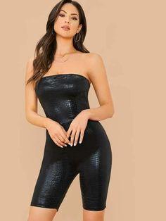 Christen Harper, Strapless Dress Formal, Formal Dresses, Hot Brunette, Lingerie Sleepwear, Spandex Material, Crocodile, Leather Pants, Tube