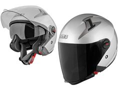 Speed and Strength - SS2200 Solid Speed Silver Helmet