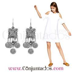 Pendientes Naisha de estilo étnico con monedas ★ 11'95 € ★ Cómpralos en https://www.conjuntados.com/es/pendientes/pendientes-largos/pendientes-naisha-de-estilo-etnico-con-monedas.html ★ #pendientes #earrings #conjuntados #conjuntada #joyitas #lowcost #jewelry #bisutería #bijoux #accesorios #complementos #moda #fashion #outfit #estilo #boho #style #streetstyle #GustosParaTodas #ParaTodosLosGustos