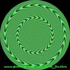 ¿Se mueve? Ilusiones Opticas con Efecto de Movimiento. #IlusionOptica #juegos // Ilusion - Head Spin!!