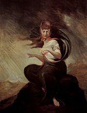 La follia di Kate, 1806, olio su tela, Goethemuseum di Francoforte