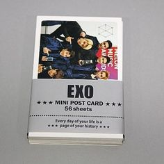 K Pop Star Goods Korea Girl Group Twice Mini Photo Post Cards 56 Sheets GKKPS002