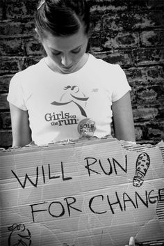 Will Run For Change - Girls on the Run - SoleMates®