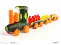 Viele Kinder mögen Gemüse nicht gekocht essen. Wird es aber roh auf den Tisch…