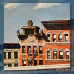 """'From Williamsburg Bridge' is a city scene without noise or motion,"" explains a page devoted to this 1928 Edward Hopper painting on the Metropolitan Museum of Art website."