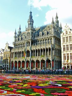 Grand Place, Bruxelles, Belgique #mostbeautiful