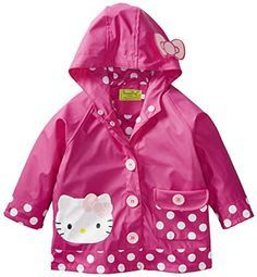 1f181b7f3 The Western Chief Little Girls Hello Kitty Cutie Dot Rain Coat is  lightweight and soft with