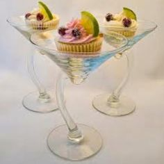 Cocktail Cupcakes - Cosmopolitan