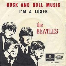"""The Beatles covered the Chuck Berry song """"Rock and Roll Music"""" and released it as a single on December 4, 1964.  It was one of the songs that they played in the early days in Hamburg.  The song is also found on the """"Beatles For Sale"""" album.  On the B side is """"I'm A Loser.""""   In Australia """"Rock and Roll Music"""" was on the B side of """"No Reply."""" #TheBeatles"""