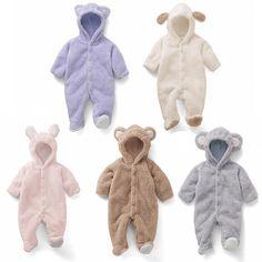 Newborn Infant Spring Baby Romper Infant Girl Cute Rabbit Boy Baby Bear Romper Kid Jumpsuit Clothing Newborn Baby Autumn Romper