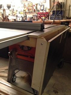 42 best table saw extension images woodworking carpentry tools rh pinterest com