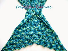 As I said in my previous post, I got the main mermaid tail pattern from this link . It's a free pattern for an infant written in UK ...