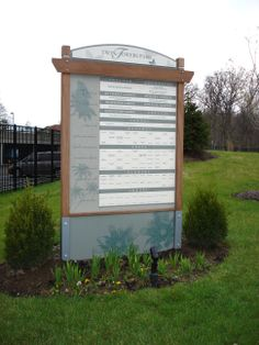 Donor Wall, Outdoor, Partners In Recognition, Inc.