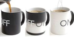 Off/On coffee mug!