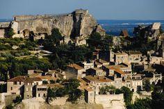Les Baux, Provence in France