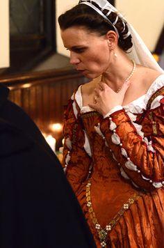 16th century Italian renaissance gown. Photo c. 2016 Jason R. Stone
