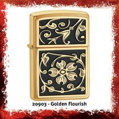Zippo Golden Flourish