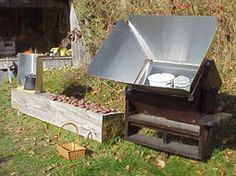 Build your own solar oven.