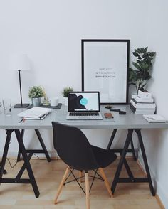 For Two Home Office Design Ideas. Hence, the demand for house offices.Whether you are intending on including a home office or renovating an old area right into one, right here are some brilliant home office design ideas to aid you begin. Office Setup, Home Office Organization, Office Ideas, Office Lighting, Organization Ideas, Men Office, Home Office Design, Home Office Decor, Home Decor