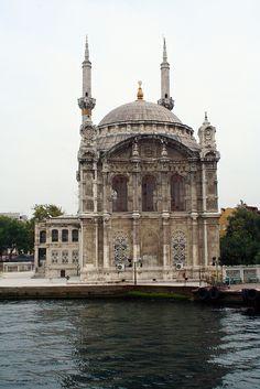 Turkey, Istanbul, Ortakoy Mosque. 1856