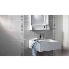 Laura Ashley - Wiston White Wall Tile - 198x248mm - Satin - LA50389