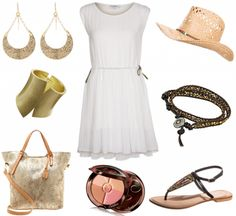 #outfit Sommerlich in weiß ♥ #outfit #outfit #outfitdestages #dresslove