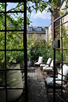 am nagement d 39 un petit balcon par r v lation int rieurs petits espaces pinterest projets. Black Bedroom Furniture Sets. Home Design Ideas