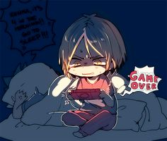 Haikyuu // In which I am both Kenma and Kuroo