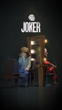 Joker Batman, Joker Art, Joker And Harley, 3d Model Character, Comic Character, Joker Poster, Joker Origin, Joker Wallpapers, Phone Wallpapers