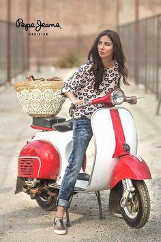 Mahira Khan for pepe jeans