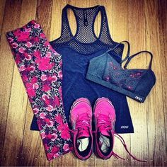 Lay out your gym kit before going to bed. 19 Fitness Tips For Lazy Girls From A Personal Trainer Athletic Outfits, Athletic Wear, Sport Outfits, Cute Outfits, Workout Attire, Workout Wear, Workout Outfits, Fitness Outfits, Fitness Workouts