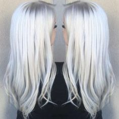 Ice Blonde Hair Color Perfect for Winter
