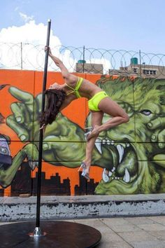 Pole Picture of the Day: Julie Fowler at Summer Pole Camp South Africa. Photography by Live Laugh Love Photography by Jane Cutler #BadKittyPride #BKPPOD  Submit your photos here: www.badkitty.com/submit  Julie is wearing the PoleFit® SpiderBack Top: http://www.badkitty.com/spider-back-pole-fitness-top.html