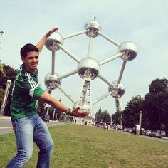 Belgium, Atomium, Brussels #landmark