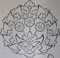 Jacobean Embroidery, Embroidery Patterns, Hand Embroidery, Turkish Art, Turkish Design, Persian Motifs, String Art Patterns, Christmas Drawing, Sketch Design