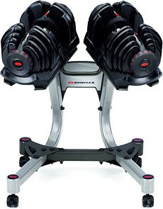 Bowflex SelectTech 1090 Dumbbells- All inclusive and easy to change dumbbell weight