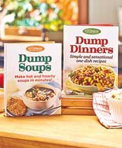 Dump Dinners or Soups Cookbooks