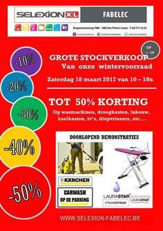 Stockverkoop Selexion - Fabelec