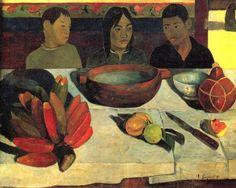 Paul Gauguin - De maaltijd