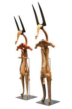 Marc Sparfel - Wood Sculpture - crafthaus